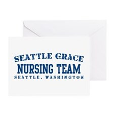 Nursing Team - Seattle Grace Greeting Cards (Pk of