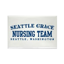 Nursing Team - Seattle Grace Rectangle Magnet