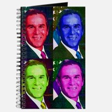 Colorful George W. Bush Journal
