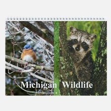 Michigan Animals Wall Calendar