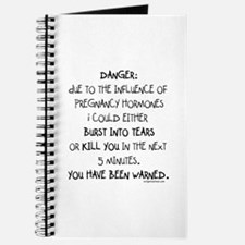 You have been warned funny pregnancy Journal