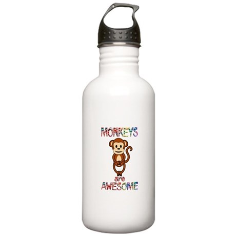 MONKEY Stainless Water Bottle 1.0L