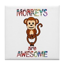 MONKEY Tile Coaster