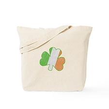 Vintage Irish Shamrock Tote Bag