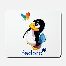 Tux Swat-Fedora Mousepad