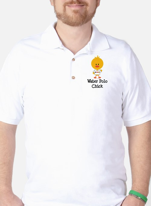 Water Polo Chick Golf Shirt