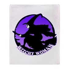 Witchy Woman Throw Blanket