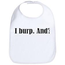 I Burp Bib