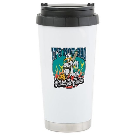 Chicken BBQ Stainless Steel Travel Mug