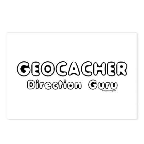 Geocacher Postcards (Package of 8)