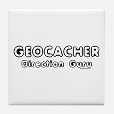 Geocacher Tile Coaster
