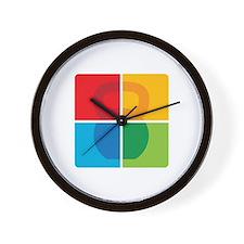 Kettlebell Pop Art Wall Clock