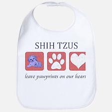 Shih Tzu Lover Bib