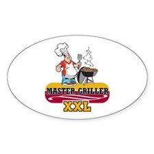 Master Griller Decal