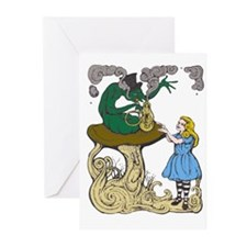 Alice & the Caterpillar Greeting Cards (Pkge of 6)