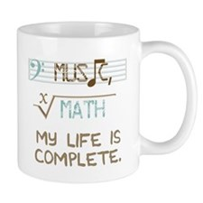 music and math Small Mug