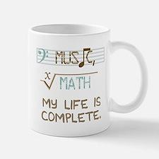 music and math Small Mugs