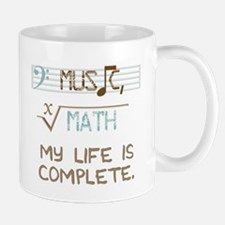 music and math Small Small Mug