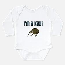 I'm a Kiwi Long Sleeve Infant Bodysuit