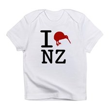 I Love New Zealand Infant T-Shirt