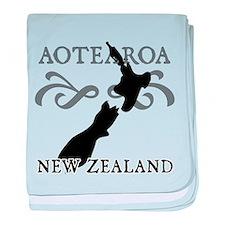 Aotearoa New Zealand baby blanket
