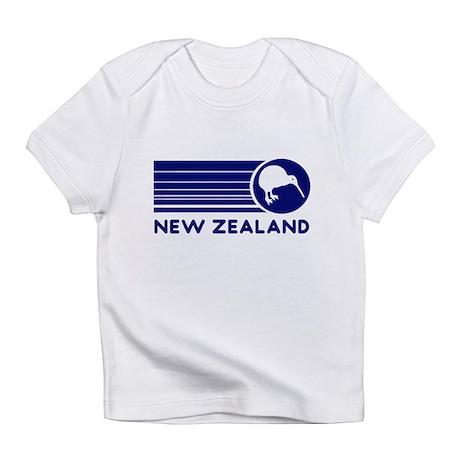Blue New Zealand Kiwi Infant T-Shirt