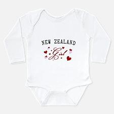 New Zealand Girl Long Sleeve Infant Bodysuit