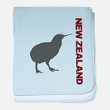 New Zealand Red baby blanket
