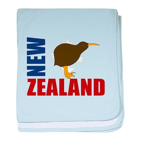 New Zealand Kiwi Stars baby blanket