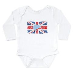 British Kiwi Long Sleeve Infant Bodysuit