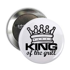 """King of the Grill 2.25"""" Button (100 pack)"""