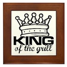 King of the Grill Framed Tile