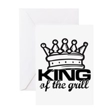 King of the Grill Greeting Card