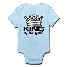 King of the Grill Infant Bodysuit