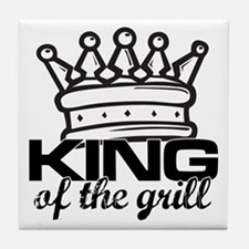 King of the Grill Tile Coaster