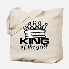 King of the Grill Tote Bag