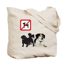 Arnie Says No Dogs! Tote Bag