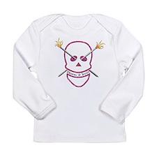 Born 2 knit Long Sleeve Infant T-Shirt