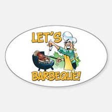 Lets Barbeque Decal