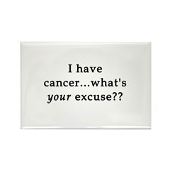 What's YOUR excuse? Rectangle Magnet (10 pack)
