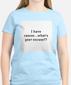 What's YOUR excuse? Women's Pink T-Shirt