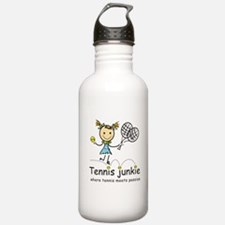 Tennis Junkie Water Bottle