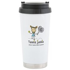 Tennis Junkie Travel Mug