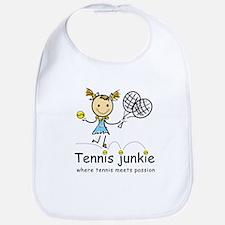 Tennis Junkie Bib