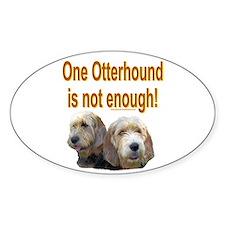 One Otterhound Decal