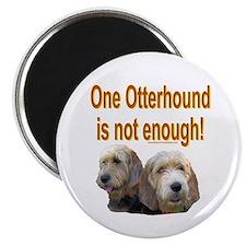 "One Otterhound 2.25"" Magnet (10 pack)"