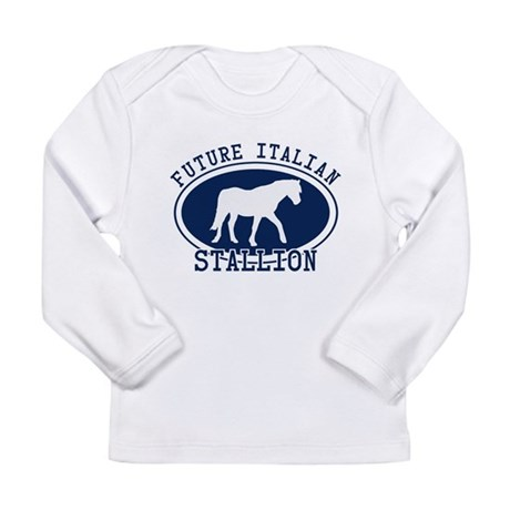 Future Italian Stallion Long Sleeve Infant T-Shirt