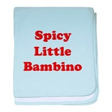Spicy Little Bambino baby blanket