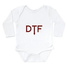 DTF Long Sleeve Infant Bodysuit