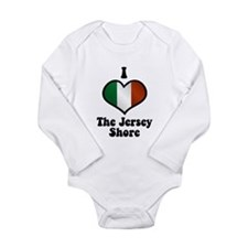 I Love the Jersey Shore Long Sleeve Infant Bodysui